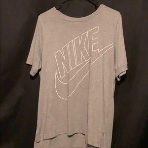 Grey Women's Nike Shirt